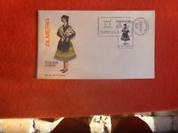 1967 SPAIN ALMEIRA   FIRST DAY  COVER  MADRID POSTMARK