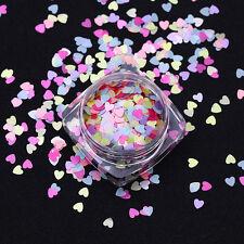 2g Nail Glitter Sequins Matte Pearl Nail Art Colorful Flakies Paillette Decor