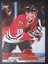 NHL 129 Steve Larmer Chicago Blackhawks Fleer Ultra 1993/94