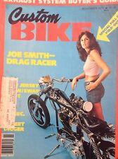 Custom Bike Magazine Joe Smith Drag Racer November 1977 122817nonrh