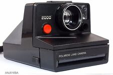 Polaroid Land Camera 2000 RED BUTTON SMALL FOCUS RING  (ANJ)