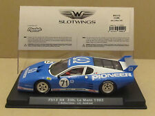 W50102 Fly Slotwings Ferrari F512 BB Pioneer Group 5 Lemans 1982 1:32 Slot Car