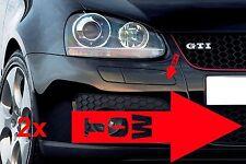 Aufkleber RACINGPFEIL Abschlepphaken ABSCHLEPPÖSE ROT 2 STÜCK Rennwagen Auto