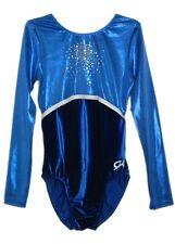 Gk Elite Sequined Royal Velvet Gymnastics Leotard - Axs Adult Extra Small 4064