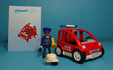 Playmobil Rettung/Rescue~Brandmeisterfahrzeug/Fire Chief Unit (3177) & Manual