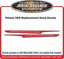 2002 POLARIS INDY XCR 800 VES Hood Decals