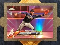 🔥RONALD ACUNA JR🔥2018 Topps Chrome Update Pink Refractor Rookie ⚾️ BRAVES ⚾️SP