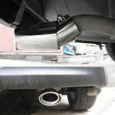 Uesful Stainless Car Rear Round Exhaust Pipe Tail Muffler Car Accessories