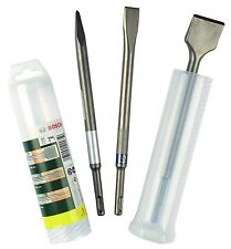 BOSCH 3 pieza conjunto de cincel SDS (290 X 52x 52mm) 2607019457 3165140415750