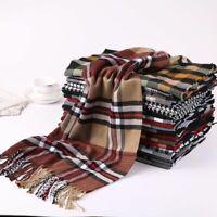 Fashion Women Men Scarf Warm Cashmere Shawl Soft Brand Luxury Design Shawl Gift