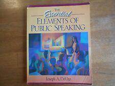 The Art of Public Speaking by Stephen Lucas (2007, Paperback)