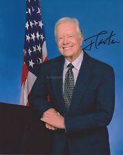 Jimmy Carter Hand Signed 8x10 Photo, Autograph, USA President (B)