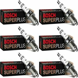 6 New Bosch Copper Core Spark Plugs For 1989-1990 MASERATI 228I V6-2.8L