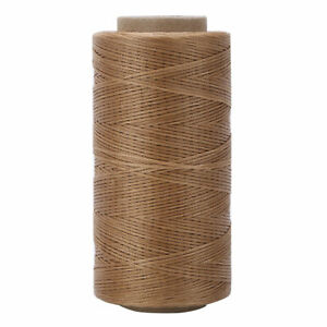 Extra Strong Heavy Duty 150D Flat Waxed Sewing Thread Cord Leather Denim 260m