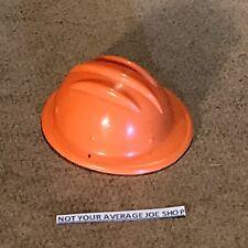 1964 G.I. Joe Combat engineers orange safety helmet near mint condition