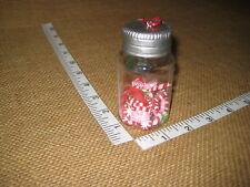 Mason Jar w Candy Cane & Peppermints Plastic Christmas Tree Ornament Kurt Adler