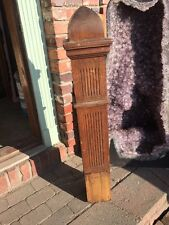 Antique Oak Newell Post 42 Inches High By Five And Three-Quarter Inch Square