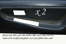 YELLOW STITCH FITS NISSAN 200 SX S13 88-93  2 X DOOR CARD TRIM COVERS ONLY