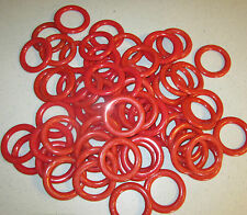 50 NEW CARNIVAL CANE RACK PLASTIC RINGS SODA BOTTLE TOSS RING SCHOOL PARTY