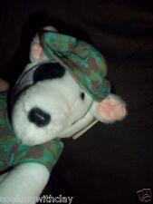 Tater Mcgregor Vintage Dakin Camouflage Dog Outback Australia Toy Bull Terrier