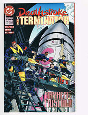 DEATHSTROKE, THE TERMINATOR, NUCLEAR WINTER INVASION PART 3, # 19, FEBRUARY 1993