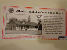 American Model Builders HO #130 ACL Atlantci Coast Line / Depot (kit Form)