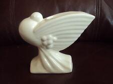 Rare! Vintage Nelson McCoy Pottery Dove or Pigeon Flower Holder/Vase/Planter HT!