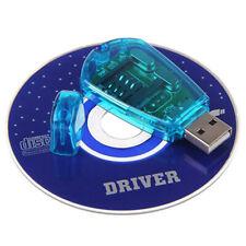 USB Cellphone Standard SIM Card Reader Copy Writer SMS  GSM/CDMA+CD KY Backup.kn