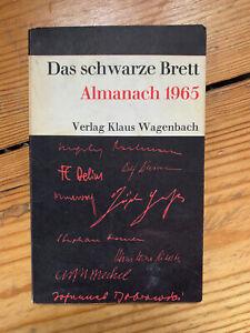 Das schwarze Brett Almanach 1965 Verlag Klaus Wagenbach Anarchismus Kommunismus