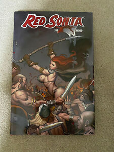 DYNAMITE RED SONJA Vol. 3 SHE-DEVIL WITH A SWORD - HARDCOVER GN