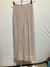 Womens Mango Suit Size EUR 40 Pale Pink High Waist Wide Leg Trousers