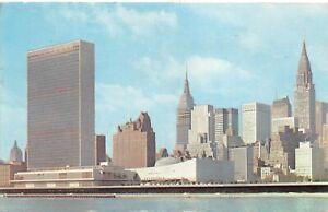 New York City NY Tudor City Empire Stadt Bldg. Crysler Bldg. gl1968 164.045