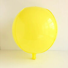 """Brand New 15"""" Sphere Orb Round Balloons Macaroon Yellow Wedding Party"""