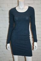 H&M Brand Navy Blue Long Sleeve Body Con Dress Size XS  BNWT #SY70