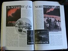 NORTHERN LIGHTS 1934 EARLY RESEARCH PICTORIAL AURORA BOREALIS PHOTOGRAPHS
