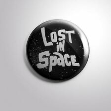 """LOST IN SPACE TV CLASSIC  - Pinbacks Badge Button 2 1/4"""" 59mm"""
