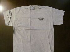 1996 The Eagles Gray Local Crew Shirt-Not Sold 2 Public-Never Worn+Backstage Pas