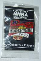 NHRA 1996 36th Chief Winternationals Pomona CA Commemorative Lapel Hat Pin