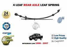 FOR MITSUBISHI L200 2.5D 2.5TD + 4WD 1996-2007 NEW 1 X REAR AXLE LEAF SPRING