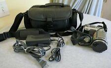 Tested Sony DSC-F707 CyberShot 4.9MP Camcorder Carl Zeiss Lens w Case Bundle