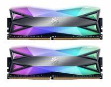 XPG SPECTRIX D60 RGB Memoria de escritorio: 16GB (2x8GB) DDR4 3200MHz CL16 Gris