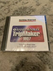 RAND MCNALLY TRIPMAKER CD 1997 EDITION WINDOWS 95 98 WIN NT 4.0 OR HIGHER