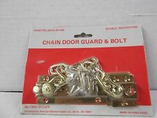 CHAIN DOOR GUARD AND BOLT