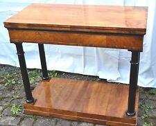 Esposizioni nei musei console tavolo da gioco trasfigurazione TAVOLO ALLUNGABILE Empire/Biedermann Meier 1820