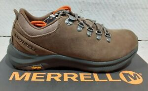 Men's Merrell J16545 Ontario Suede Canteen Vibram Lace Up Walking / Casual Shoes