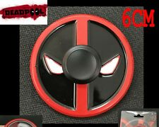 Marvel  Deadpool EDC Hand Spinner Finger Fidget EDC Metal Gyro Toy Kids Gift