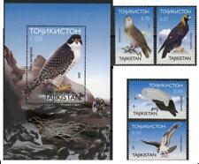 Tajikistan 2000 fauna birds of prey set+s/s MNH