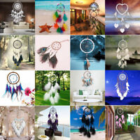 Handmade Dream Catcher with Feathers Wall Hanging Decoration Car Ornament Gift