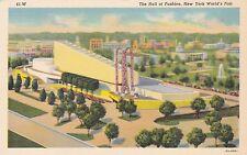 New York World's Fair 1939 Hall Of Fashion Curteich sk1939