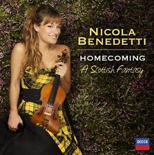NICOLA BENEDETTI - HOMECOMING  CD NEU